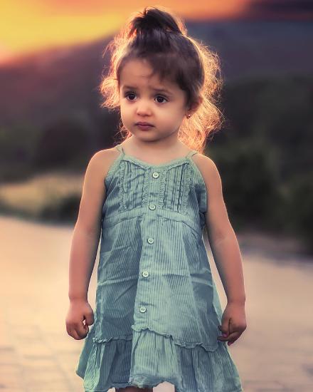 Picture of Kids Light Blue Dresses