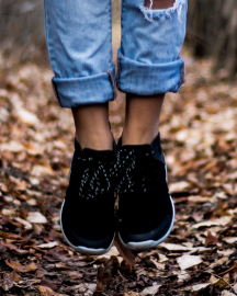 Picture of Women Black Casual Shoes