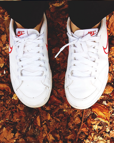 Picture of Women White Sport Shoes