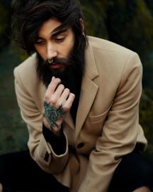 Picture of Men Dark Grey Suit