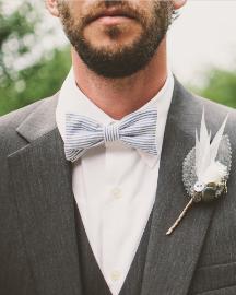 Picture of Men Light Grey Suit