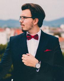 Picture of Modern Men Blue Suit