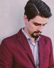 Picture of Modern Men Red Suit