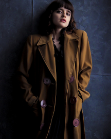Picture of Women Dark Brown Jacket