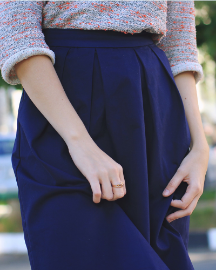 Picture of Women New Blue Skirt