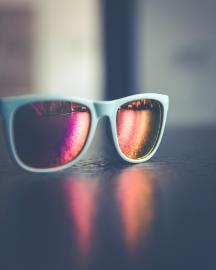 Picture of Men Sky Blue Sunglasses