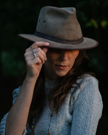 Picture of Women Dary Grey Hats